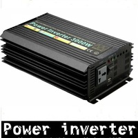 Factory price, 3000W Modified Sine Wave Car Power Inverter 12VDC to 220VAC  50HZ +free shipping