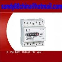 Single Phase din rail Kilowatt Hour kwh Meter Power din rail power free shipping FEDEX or DHL or UPS !