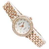 Ladies watch steel strip bracelet watch waterproof watch female women's watch