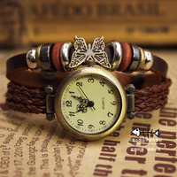 Fashion women's watch strap waterproof sheet school wear table vintage table ladies watch
