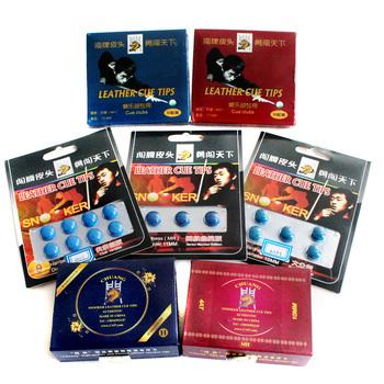 Tip snooker bar tip american black 16 rod black 8