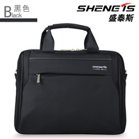 2014 Real Limited Boys Notbook free Shipping D'angleterre Elegant Handbag One Shoulder Cross-body 12 14 15 Laptop Bag Briefcase