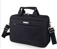 2014 Real New Arrival Medium(30-50cm) Interior Slot Pocket Zipper Totes Men Solid Free Shipping Ds-1018 Laptop Bag Higt Quality