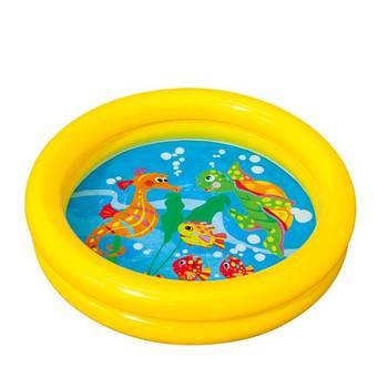 Free shipping Intex-59409 baby water pool circle inflatable swimming pool infant bathtub ball pool