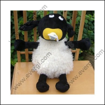 New Cute For The Shaun The Sheep Plush Toy Cute 7'' Doll TW1200