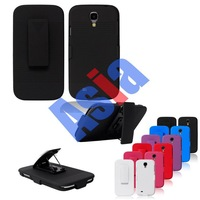 New Arrival Combo Holster with Stand and Belt Clip Hard Case for Samsung Galax S4 i9500.100pcs/lot DHL EMS Free Shipping