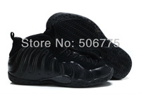 free shipping by ems penny hardaway black foamposite basketball shoes shoes size us 8~13