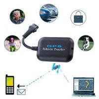 Universal GSM/GPS+SMS Tracker Built-in Shock Sensor for Car Vehicle-Black