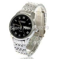 Chic Curren Men's Leisure Quartz Watch w/ Calendar and Week Displaying (Black),Free shipping,men watches 2013