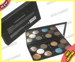 Cosmetic Makeup 10 Urban Mineral Eye Shadow Glitter Eyeshadow Palette 3010-3 Wholesale(Eye Brow liner Gel Balm Cake Bag Crimson(China (Mainland))