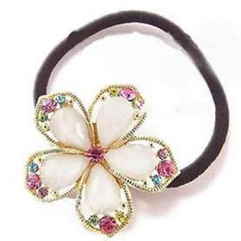 Ocean store fashion rhinestone hair band crystal flower headband ( min order $10) f027