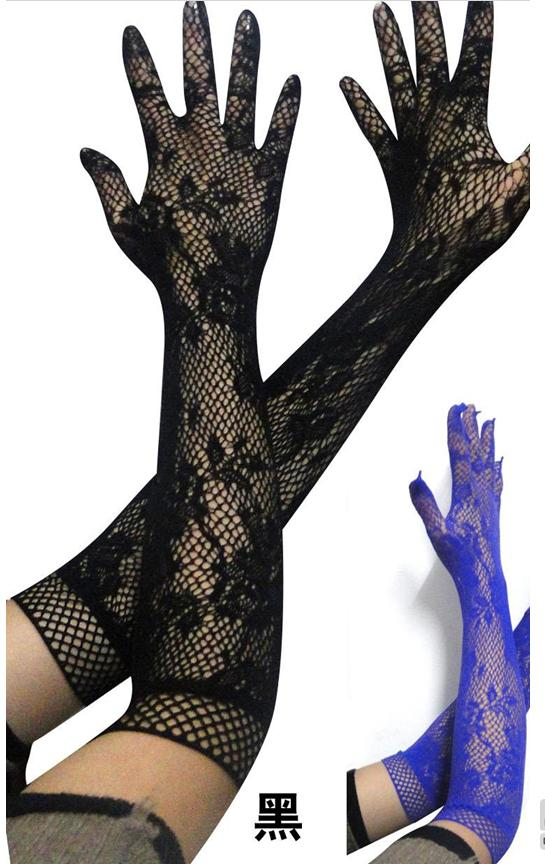 Adult sexy lingerie women, Accessories lace knee-high gloves excellent fun stockings one piece stockings fishnet stockings(China (Mainland))