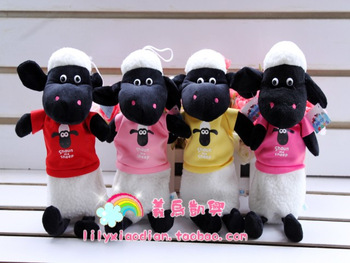 Wool velvet pencil case sheep plush pencil case cartoon cute pencil case cartoon stationery student pencil case