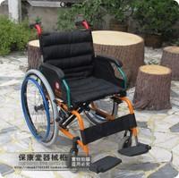 Foshan wheelchair aluminum alloy folding wheelchair light wheelchair the elderly wheelchair scooter fs980la