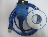 Wholesale free shipping Newest version vag 409 VAG KKL USB+Fiat Ecu Scan diagnostic interface tool vag 409+ fiat ecu scan