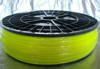 3D printer ABS/PLA filament ,Yellow  Transparent  for MakerBot/RepRap/UP.environmental-friendly!