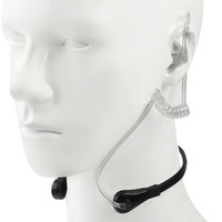Throat Vibration Headset for iPhone 5 / iPhone 4 & 4S / Samsung / HTC / Other Mobile Phone  , Free shipping!