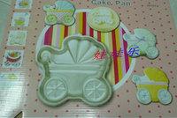hot selling DIY Baking tools baby Car Shaped Cake Pan Cake Tin Cake Decoration Tool Cake Moulds