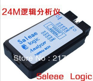 USB Saleae 24M 8CH Saleae 24MHz 8Channel Logic Analyzer saleae 24M 8CH Latest support 1.1.16