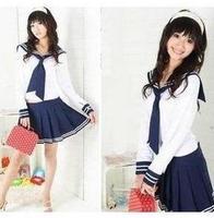Preppystyle sailor suit set school wear photography services school uniform school uniform student uniform