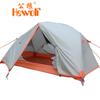 Hewolf outdoor double layer double pole tent field 1599