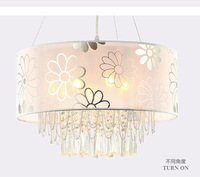 free shipping Lamp fashion brief modern pendant light crystal lamp living room lights bedroom lamp lighting lamps pl7099