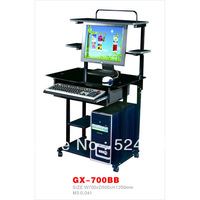 GX-700BB  cheap tempered glass office computer desk design