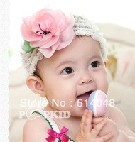 flower princess children lotus headdress baby headband Hair accessories
