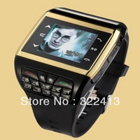 Free Shipping - Table Q6-08 next generation of mobile phones, digital key quad-band fashion watch mobile phone