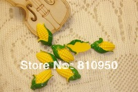 14*23MM Resin Craft corn Beads Charm Pendant Jewelry Accessory,Fit DIY Jewelry Accessories,Free Shipping!