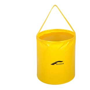 New Portable Outdoor 10L Folding buckets Collapsible Bucket Barrel Pail Camping Hiking Fishing water breakers(China (Mainland))