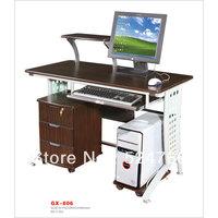 GX-806  multifuntion black walnut  MDF office table
