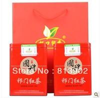 Free shipping new arrived China Organic Keemun black tea 500g new tea top grade  The gift of tea 250g*2 Red Tea