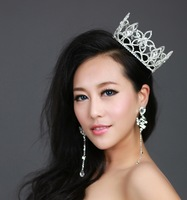 Luxury Bridal Crystal Tiara Crown Hair Accessories For Wedding Quinceanera Tiaras And Crowns Pageant Hair Jewelry WIGO0118