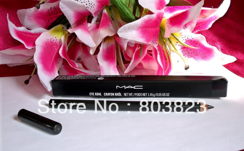 "NEW EYE LINER / EYELINER KOHL PENCIL BLACK - ""SMOLDER"" with the boxes 150PCS(China (Mainland))"