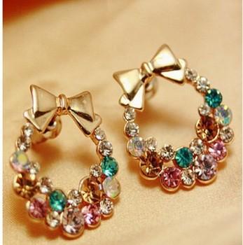 Min.order is $8 (mix order) & 2013 Korean Jewelry Refined Ultra Flash Bright ...
