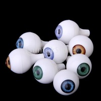Free Shipping 8 PCs 20 mm Round Acrylic Doll Eyes Eyeballs