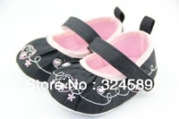 Wholesale 3pcs/lot 2013 embroidered shoes baby toddler shoes Velcro baby shoes,free shipping