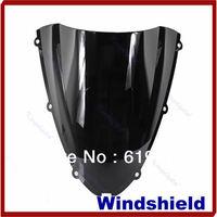 A31 New Black ABS Plastic Motorcycle Windshield Windscreen For Kawasaki Ninja ZX6R ZX 6R Drop Shipping