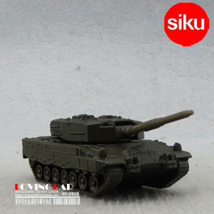 Full alloy military siku green alloy toys car model
