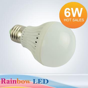 5PCS/lot High Brightness LED Bulb light lamp E27,B22 6w 5730SMD 500lm AC85v~265V Cold white/warm white Free shipping