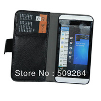 Leather Cover Case for BlackBerry BB Z10