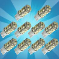 Wholesale! 10pcs T10 Car High Power 168 194 W5W White 28 SMD LED Wedge RV Light Bulb Lamp 12V