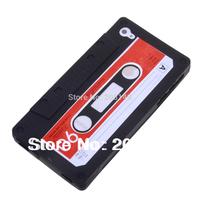 Retro Cassette Tape Silicon Case for iPhone 4 4S free