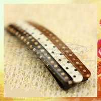 Sweet Girls Hairgrips barrettes RS0234 100pcs Korea style hairwear accessories hair cilps polka dot fashion hairpins