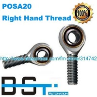Rod End Bearing POSA20 SA20T/K / SAKB20F 20mm Male Right Hand Thread Joint Bearing