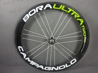 New clincher/tubular fit for Movistar frame CAMPAGNOLO BORA ULTRA TWO full carbon wheelset with G3 spokes