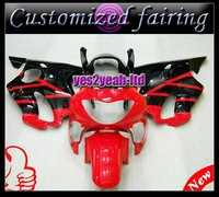 Customized INJECTION MOLDED fairing - ABS Fairing -CBR600RR Fairing For Honda CBR600 F4 1990 2000 CBR600RR Fairing Kits F4 1990