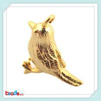 BeadsniceID26440 bird fashion pendants matte gold vintage jewelry 30pcs