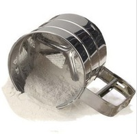 Min Order $20 (mixed order) Fondant tools West tools excellent stainless steel cup flour sieve sugar sieve  (XP)